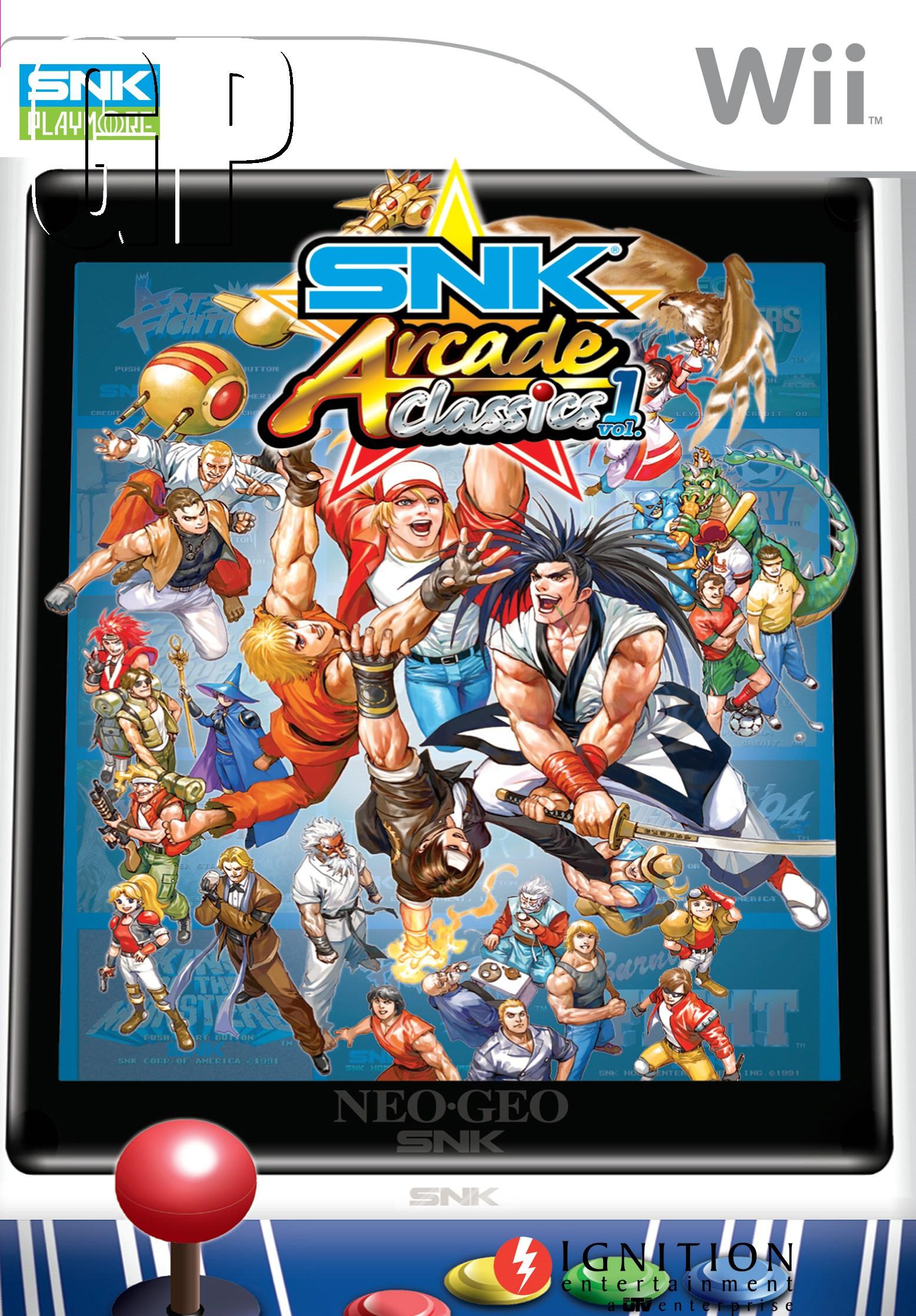 SNK Arcade Classics: Volume 1 Boxart (UK)