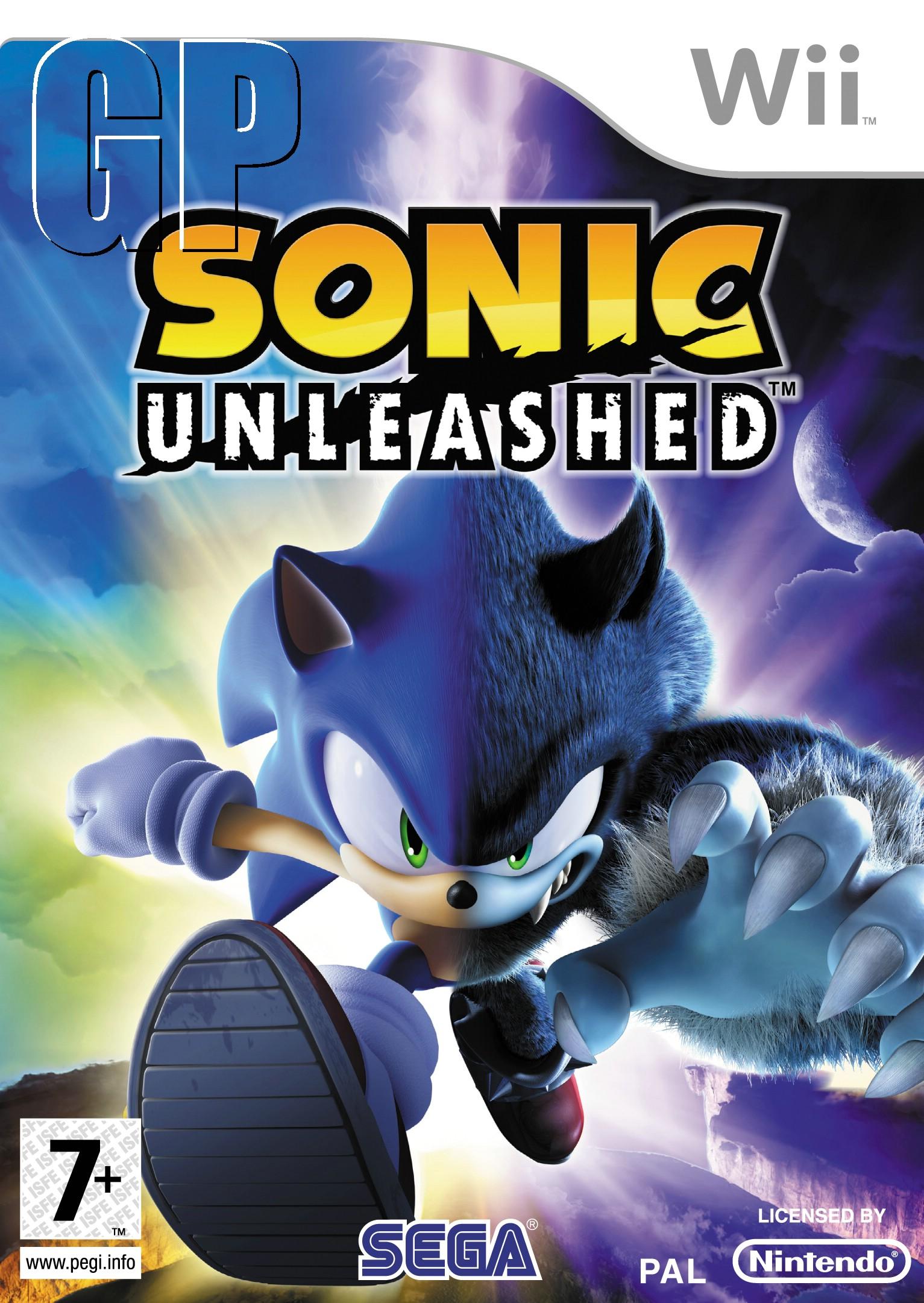 Sonic Unleashed Boxart (Europe)