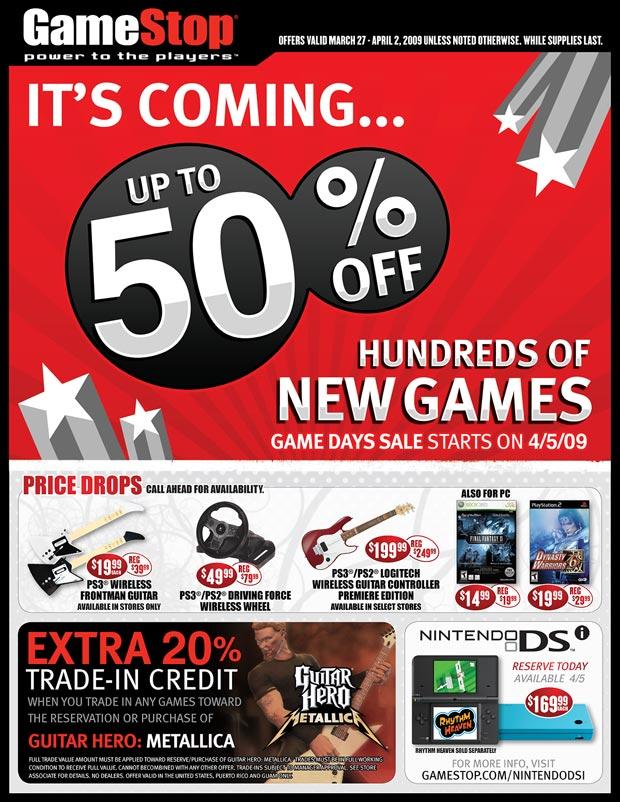 This Weeks GameStop Specials - Pure Nintendo