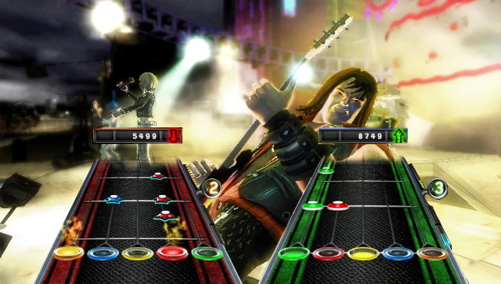 Resultado de imagen de guitar hero 5 wii