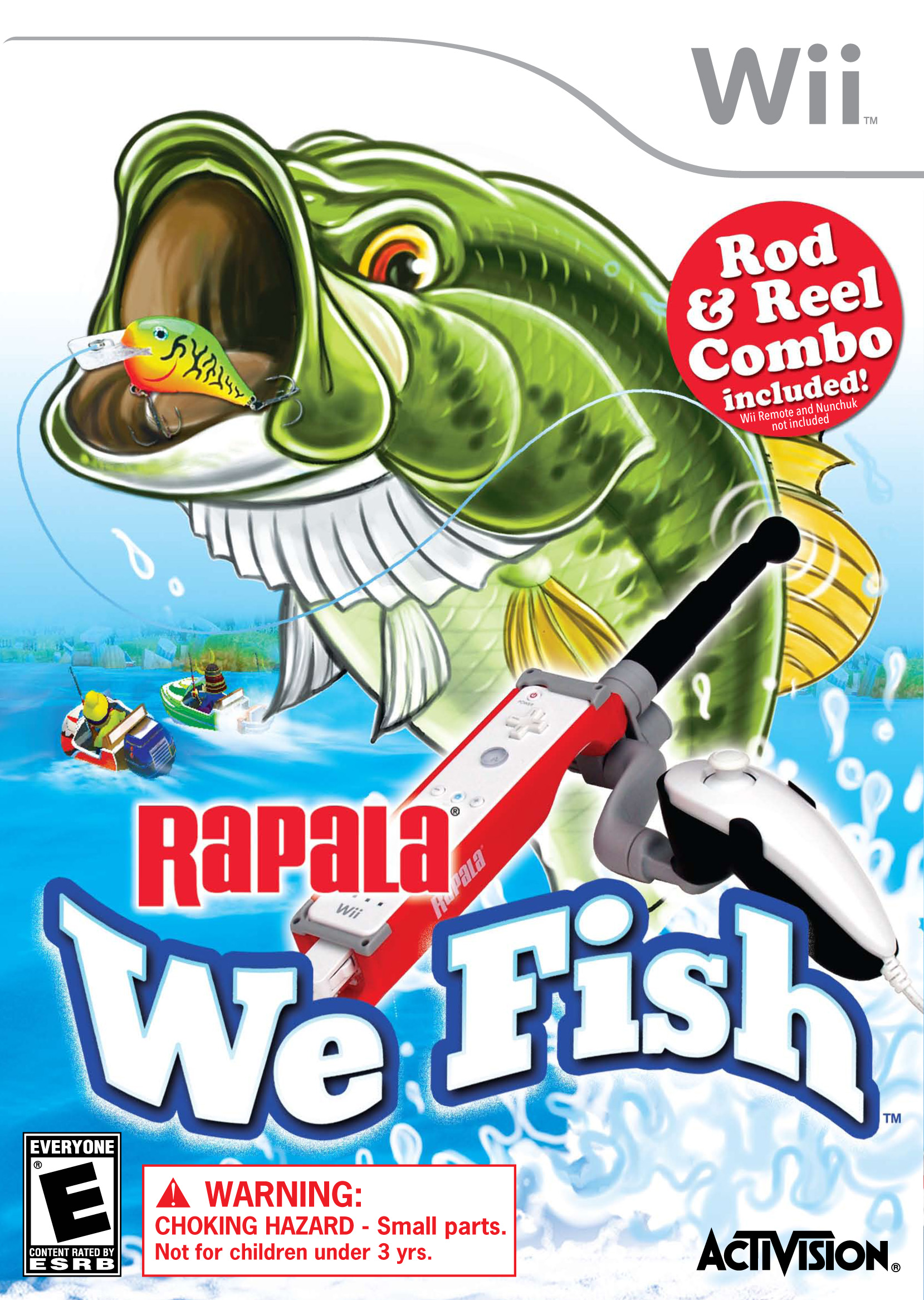 Activision publishing s rapala we fish a new species of for Wii u fishing game