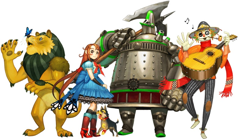 wizard of oz characters. The Wizard of Oz: Beyond