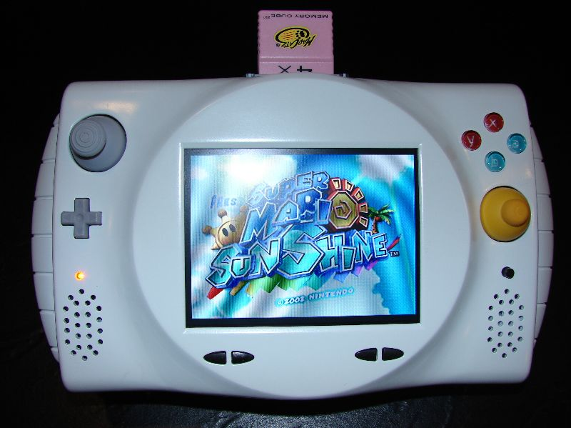 Portable Gamecube Running Super Mario Sunshine - Pure Nintendo