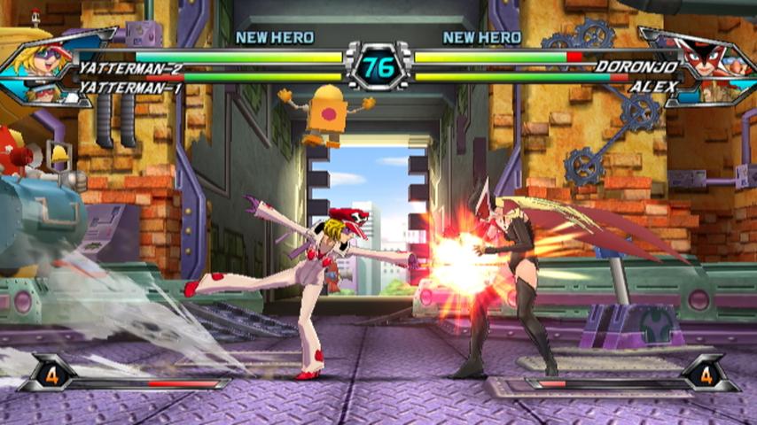 Tatsunoko vs  Capcom Ultimate All-Stars - Yatterman 2