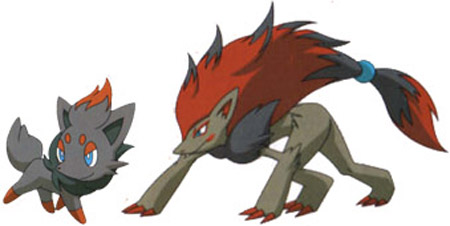 The latest issue of CoroCoro Zoroark And Zorua