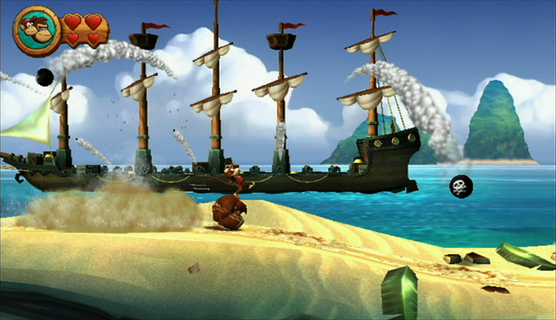 E3 2010: Donkey Kong Country Returns – Gameplay Video