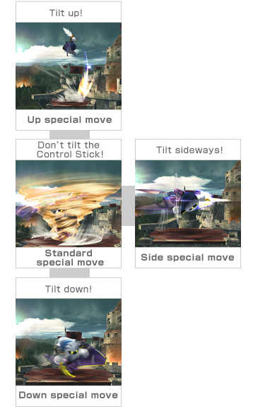 Brawl Update Part One: Four Special Move Types