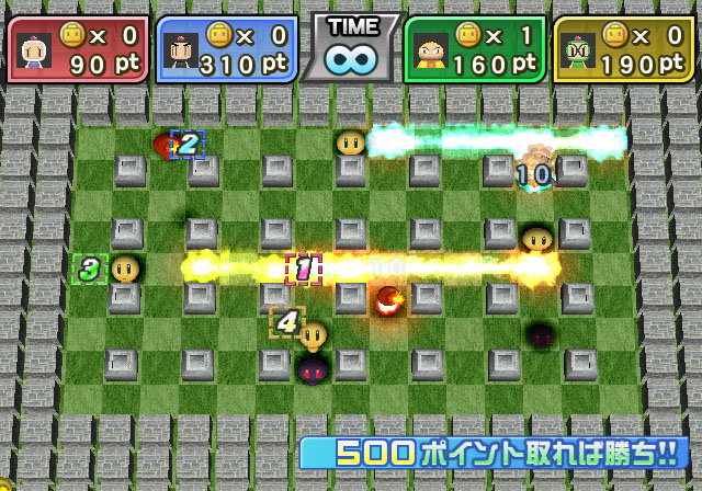 Bomberman Screens Wii