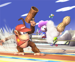 Brawl Update: Diddy Kong: Special Moves
