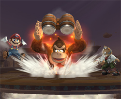 Smash Bros. Brawl Update: DK's Final Smash