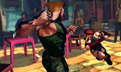Super Street Fighter IV 3DS Screens