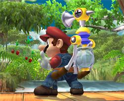 Smash Bros. Brawl Update 1: Mario Special Moves