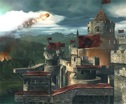 Smash Bros. Brawl Update: Castle Siege Stage