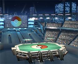 Smash Bros. Brawl Update 2: Pokemon Stadium 2 Stage