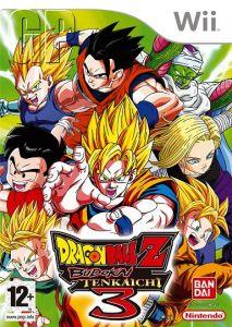 Dragon Ball Z: Budokai Tenkaichi 3 Euro boxart