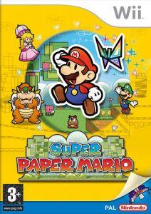 Super Paper Mario Euro boxart
