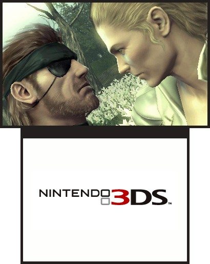 TGS 10:  Metal Gear Solid 3: Snake Eater To Be Released In 2011 For The 3DS (screens)