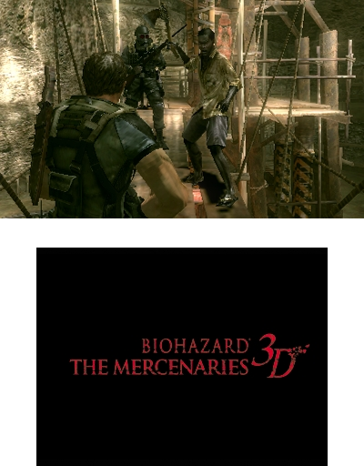 Resident Evil: The Mercenaries Screens – Will Have Co-op