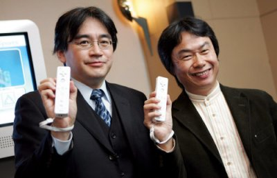 3DS photo-combine feature – Iwata and Miyamoto combine faces
