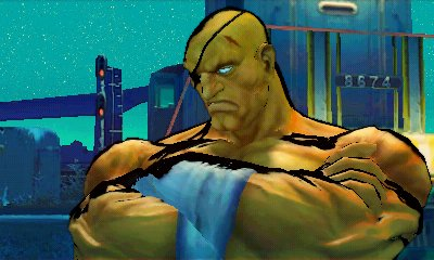 New Super Street Fighter IV 3D Screens
