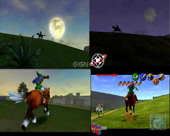 Zelda Ocarina of Time 3DS vs. Zelda Ocarina of Time N64