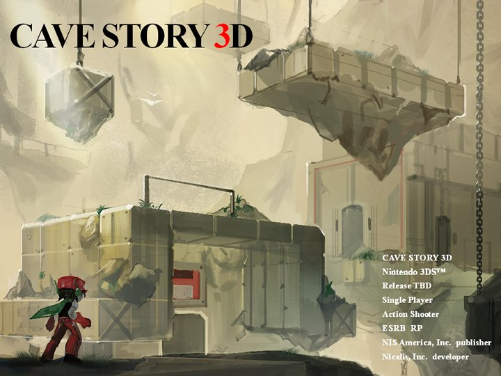 Nicalis releases never-before-seen images of Cave Story 3D