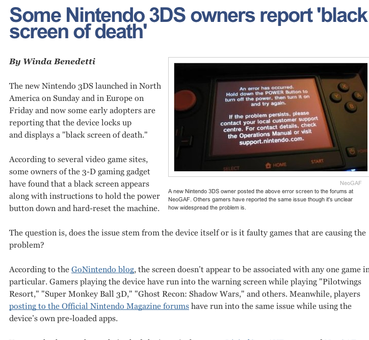 SOLVED: 3DS Black Screen When Booting Up/ Has CFW - Nintendo