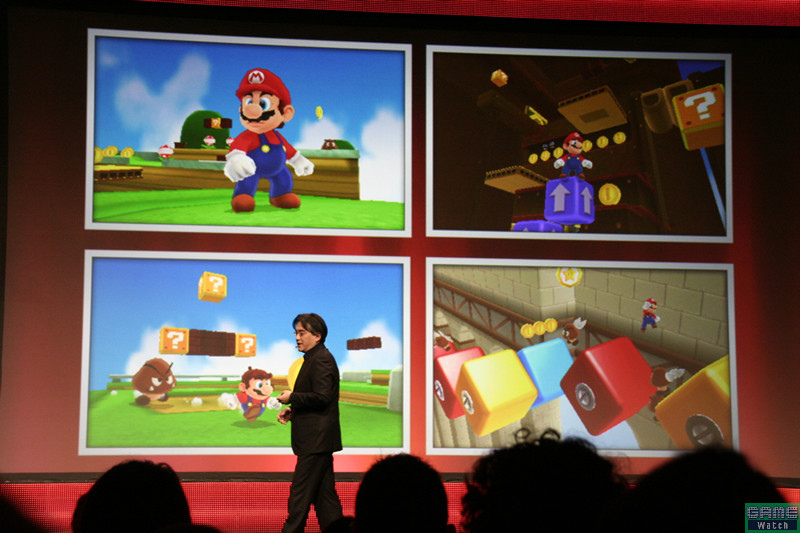 GDC 2011: First Screens Of Super Mario 3DS