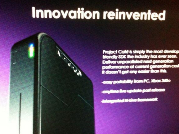 Rumor: Video of Project Cafe Presentation
