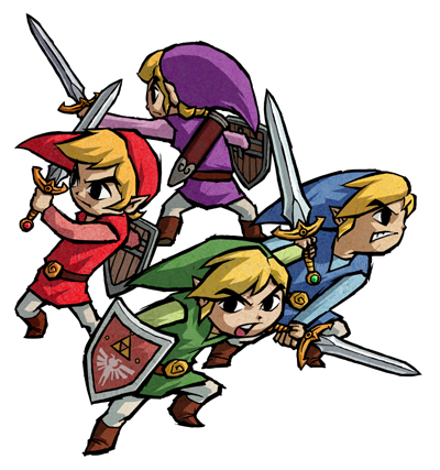 E3: Four Swords DSiWare is a GBA port