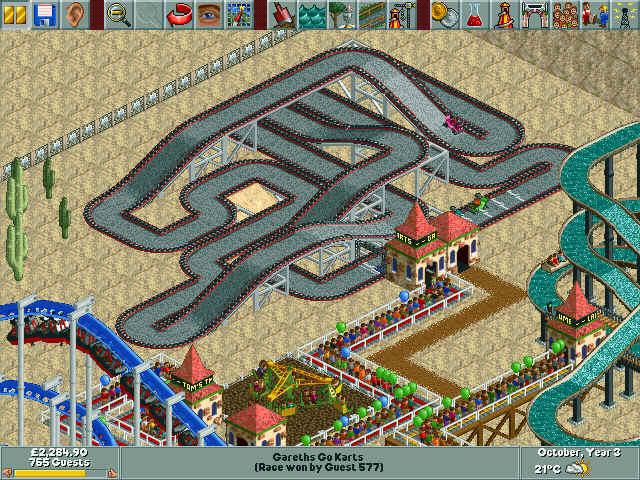 Atari announces Roller Coaster Tycoon 3D - Pure Nintendo