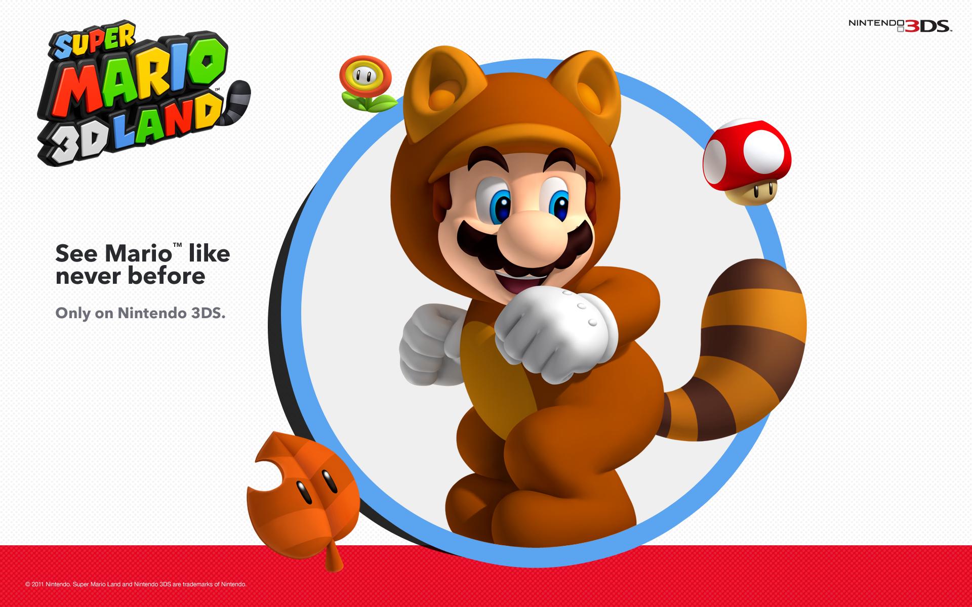 Super Mario 3d Land Wallpaper Added Pure Nintendo