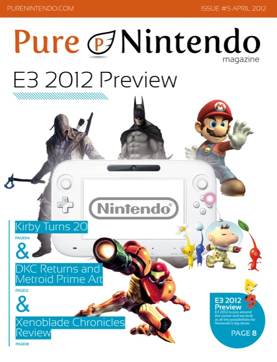 Pure Nintendo Magazine Issue #5 Out Now! Digital and Print Options