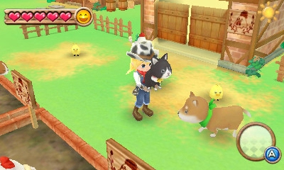 Harvest Moon: A New Beginning available on 3DS eShop as full download