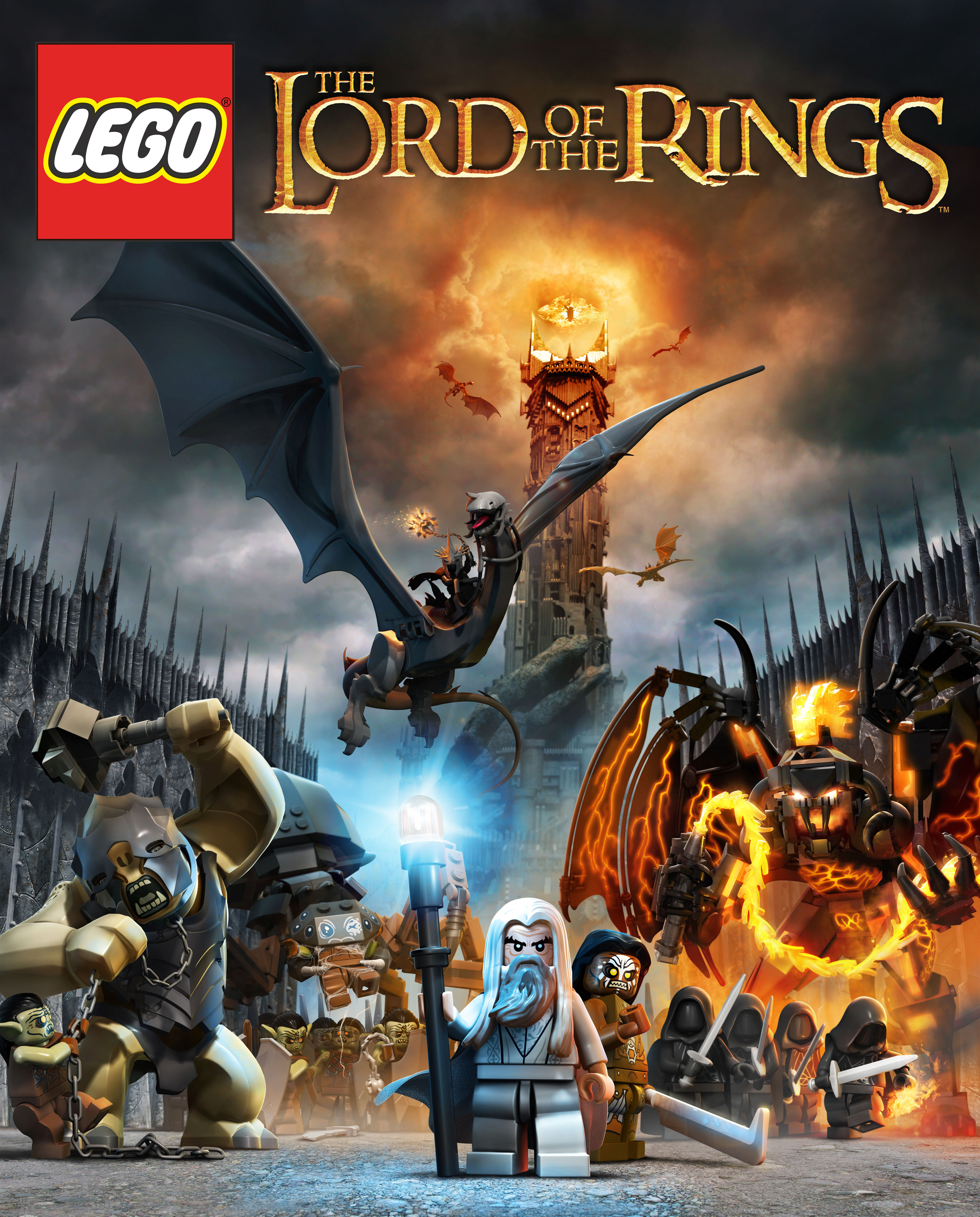Lego The Lord of The Rings Logo Lego Lord of The Rings