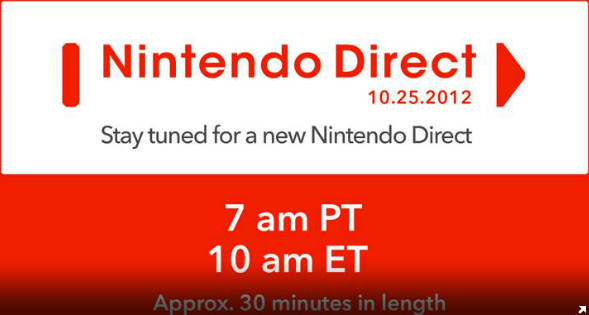 NA Nintendo Direct starts 10 am EST