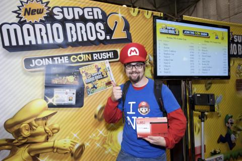 Photos from New Super Mario Bros. 2 Tournament at New York Comic-Con