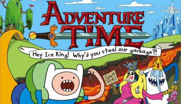 Adventure Time: Hey Ice King! Why'd You Steal Our Garbage?!! Demo at #NYCC