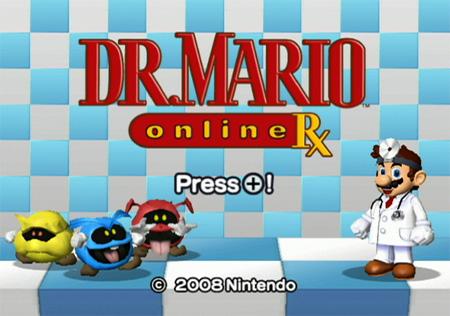 Dr Mario Online Rx
