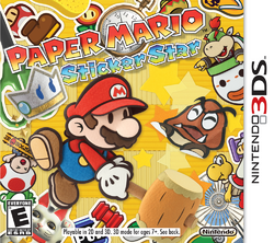 Enter The Paper Mario: Sticker Star Diorama Contest