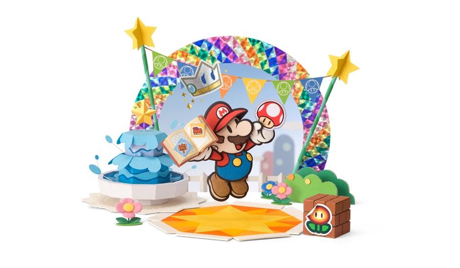 Incredible Paper Mario: Sticker Star Contest Dioramas