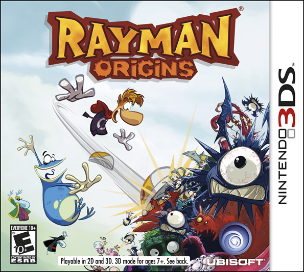 Adventure into the Glade of Dreams in Rayman Origins on Nintendo 3DS, Available Today