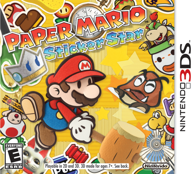 PN Review – Paper Mario: Sticker Star