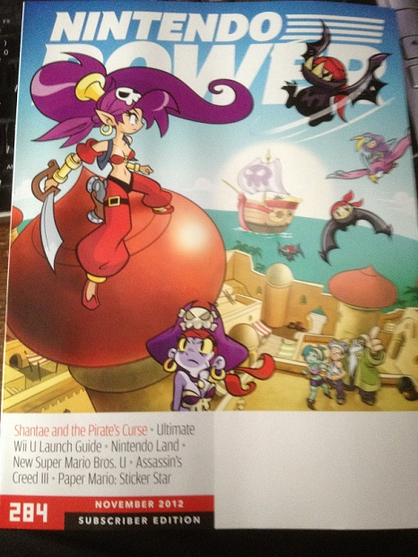 Nintendo Power reveals Shantae and the Pirate's Curse (3DS eShop), First details
