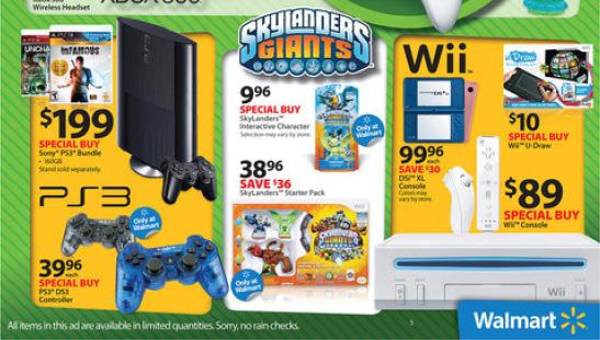 Black Friday: Walmart deals announced – Wii $89