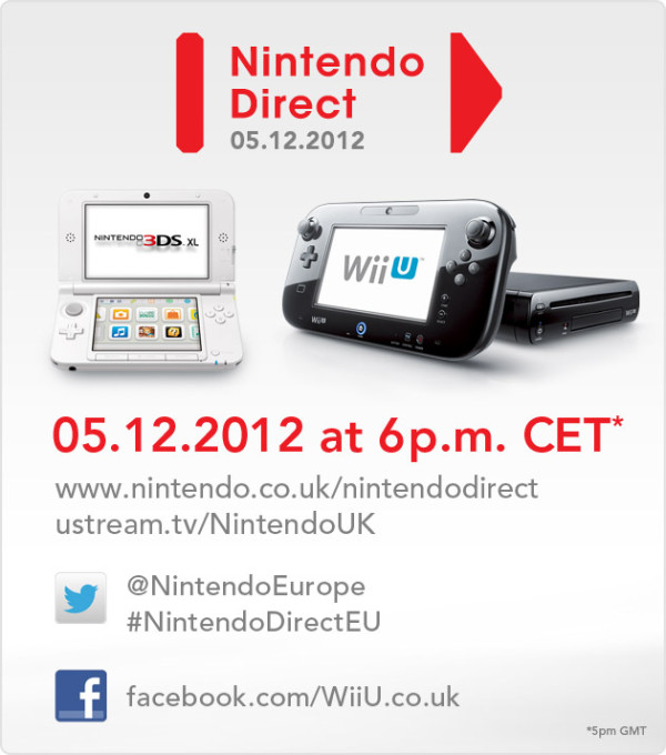 Europe holding Nintendo direct on Noon EST Wednesday