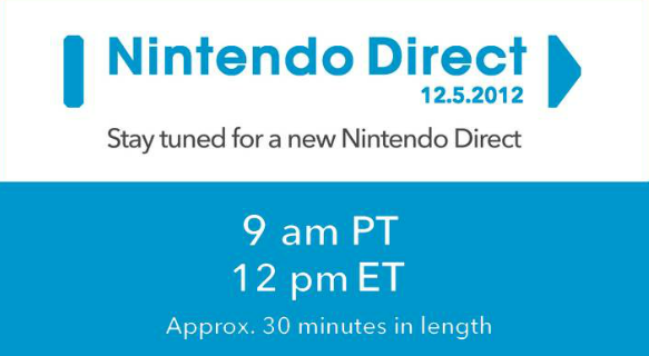 NA Nintendo Direct Live Stream – Starts 12 pm EST