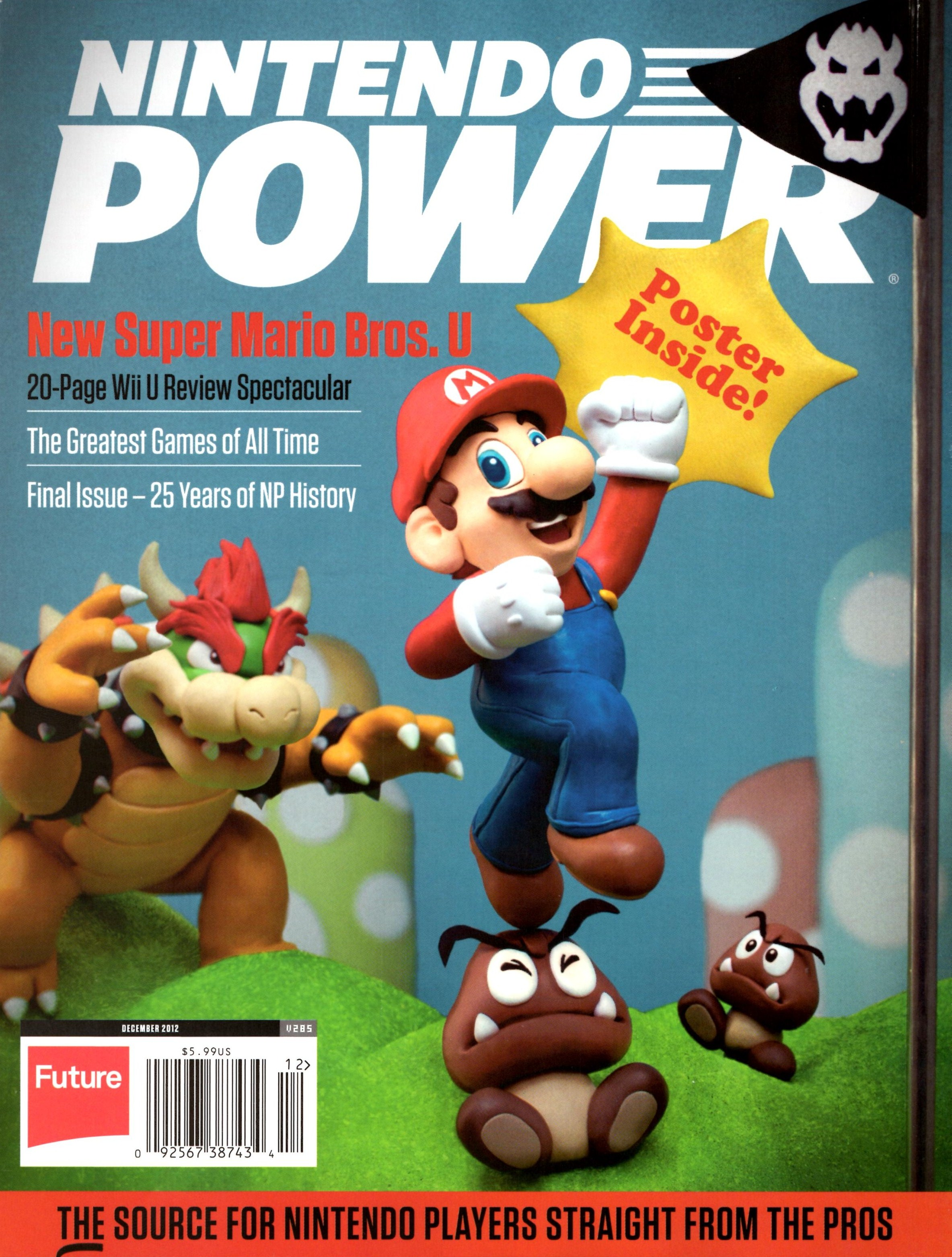 Scans Of Nintendo Power's Final Issue