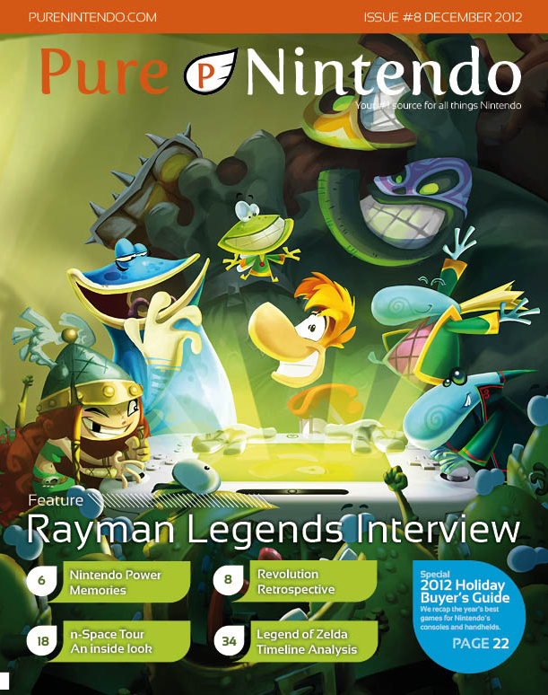 Pure Nintendo Magazine Dec. Issue Cover