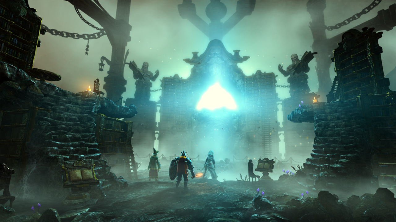 Trine 2: Director's Cut Dwarven Caverns Wii U Exclusive Levels 2